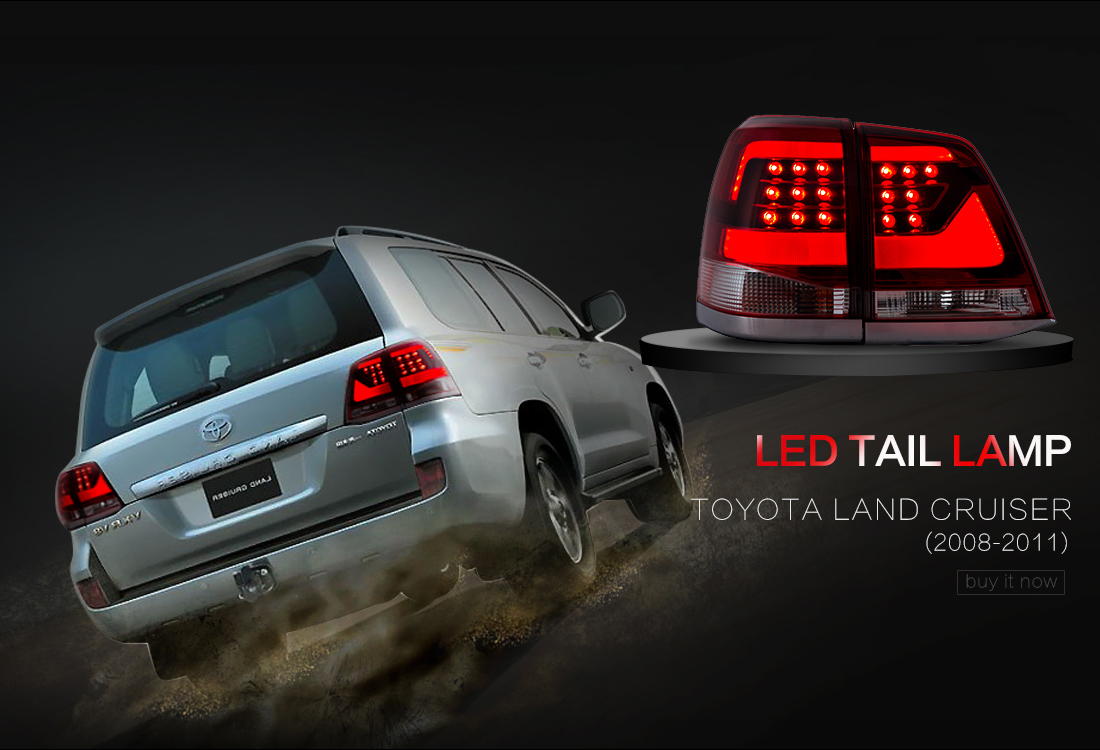 Tail Lights For 2007 2009 Toyota Camry Led Brake Rear Lamps Black Assembly L R Ebay