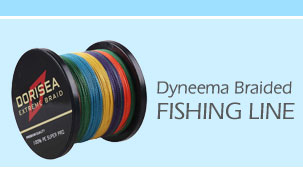 500M Yellow Braid Dorisea Dyneema PE Braided Fishing Line Fresh//Saltwater